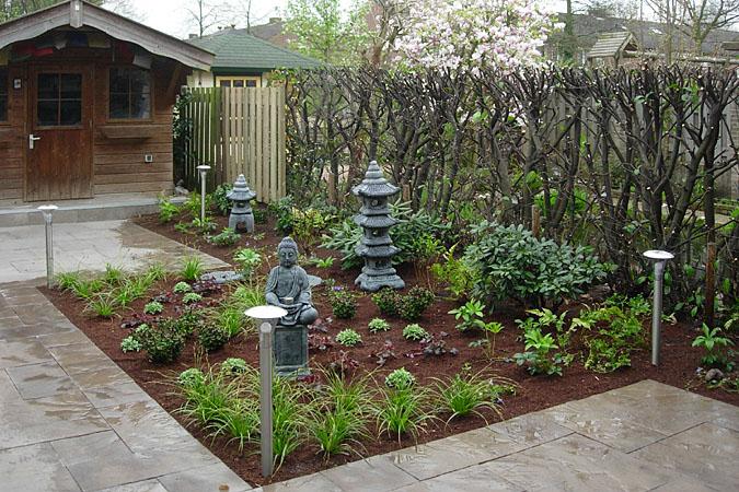 Strakke tuinen met siergrassen awesome levendig strak for Strakke tuinen met siergrassen
